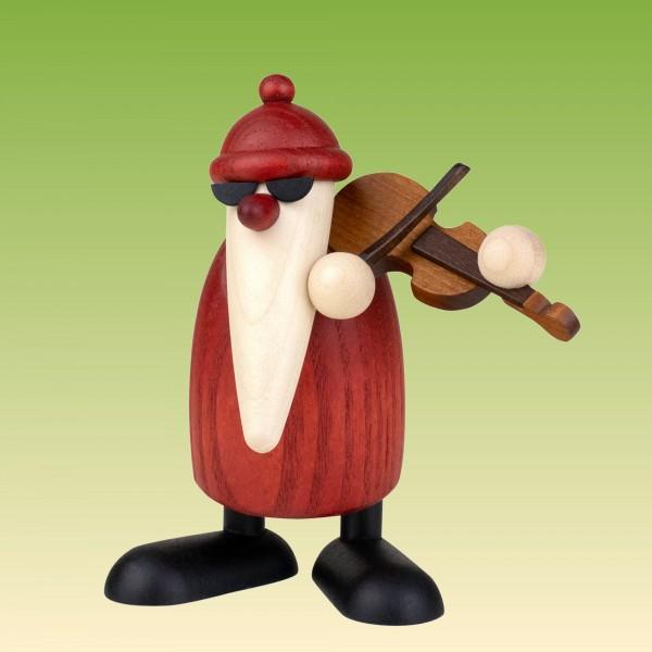 Weihnachtsmann mit Geige