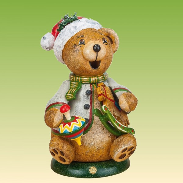 Räucherteddy Teddy's Schaukelpferd