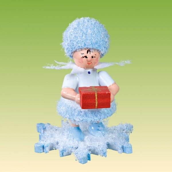 Schneeflöckchen mit Geschenk