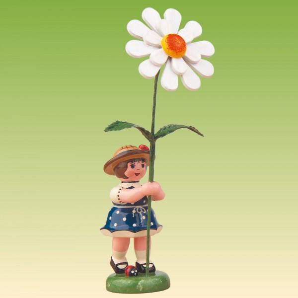 Blumenkind Mädchen mit Margerite