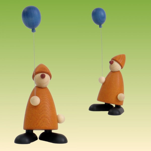 Gratulant Linus mit Luftballon