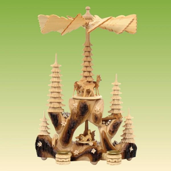 Greifensteinpyramide mit Fuchsbau
