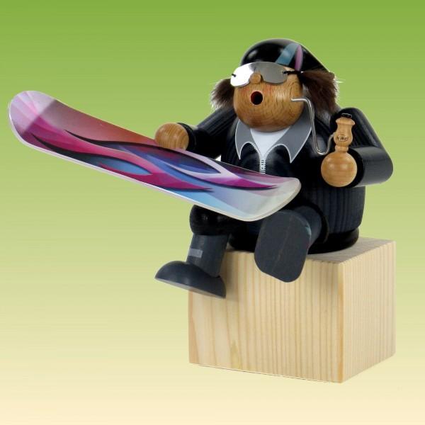 Räuchermann Kantenhocker Snowboarder