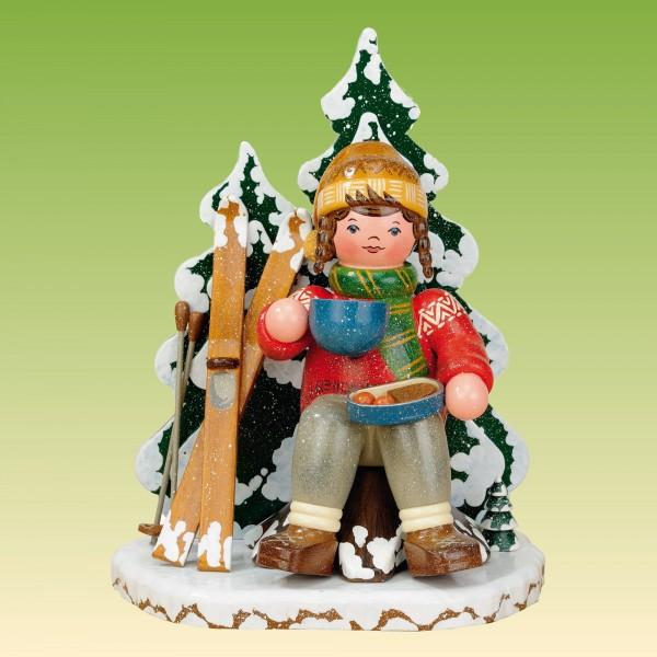 Räuchermann Schneeschuhfahrerin