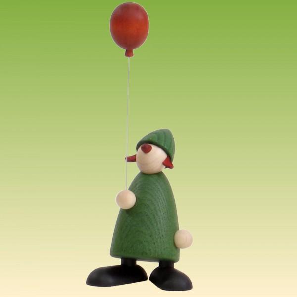 Gratulantin Lina mit Luftballon