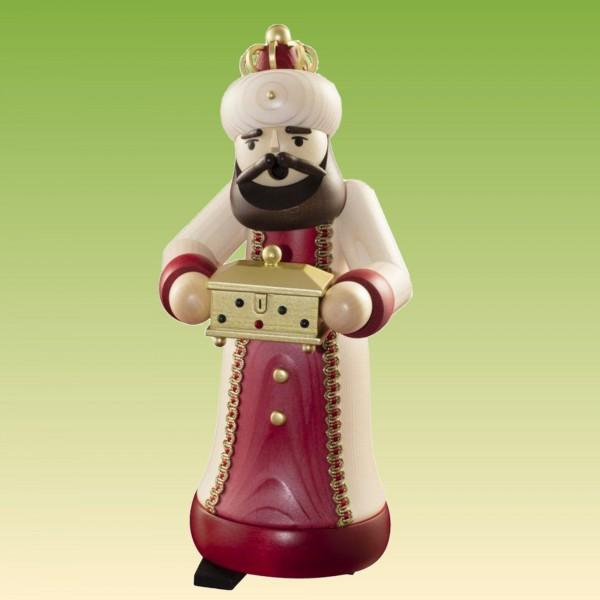Räuchermann König mit Schatulle