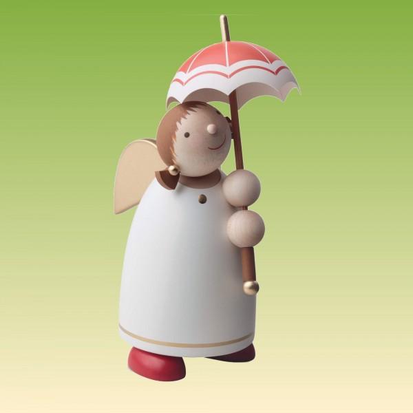 Schutzengel mit Schirm, Beige