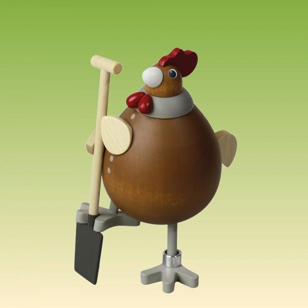 Huhn Die fleißige Rosemarie