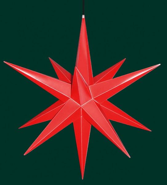 Haßlauer Adventsstern rot für außen