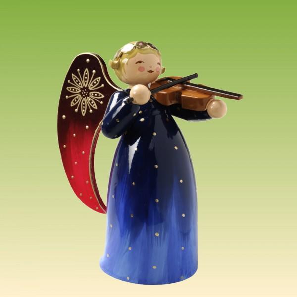 Engel reich bemalt, mit Violine