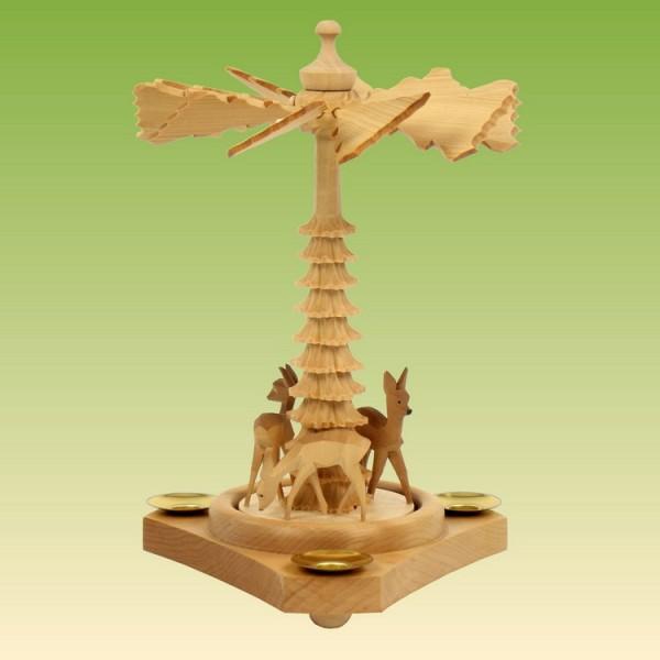 Pyramide klein mit Rehe