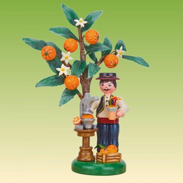 Jahresfigur Junge mit Orange