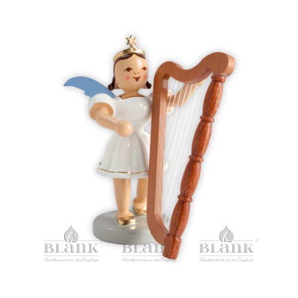 Kurzrockengel mit Harfe farbig