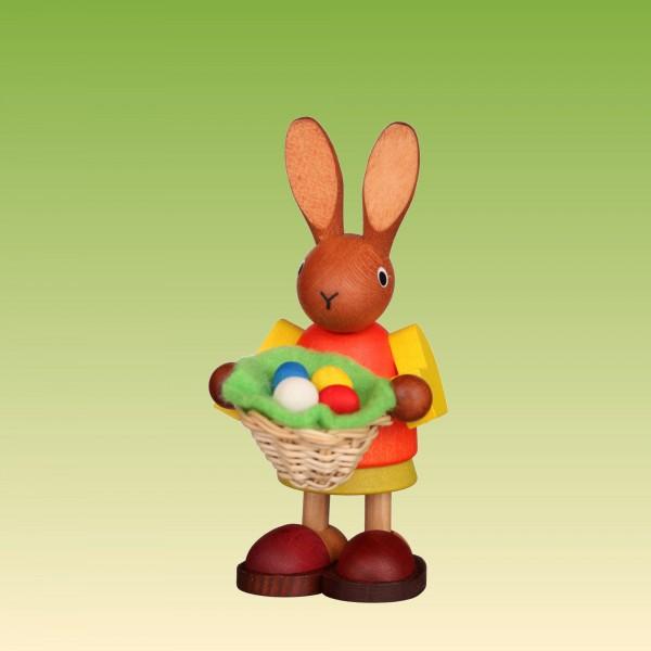 Häsin mit Osternest