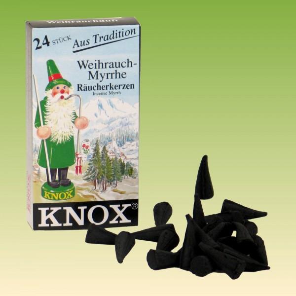 Räucherkerzen Knox Weihrauch