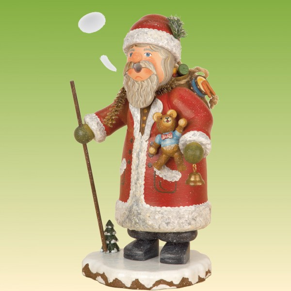 Räuchermann Weihnachtsmann, klein