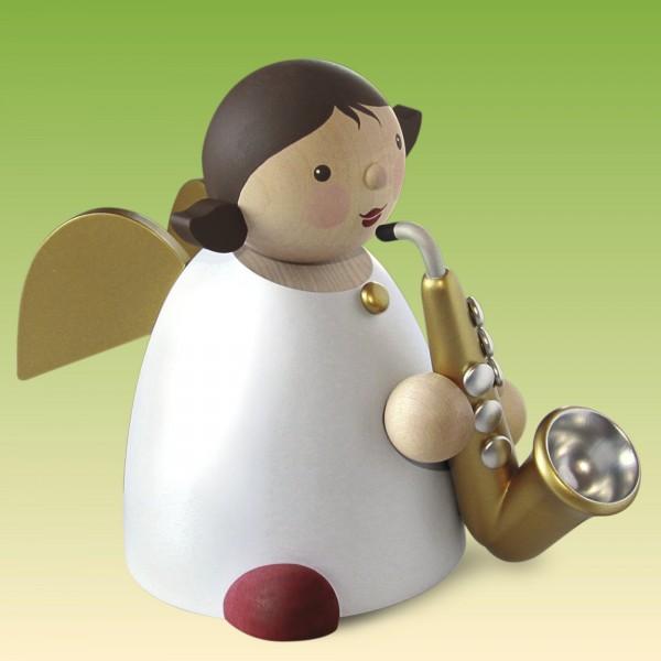 Schutzengel mit Saxophon 16 cm