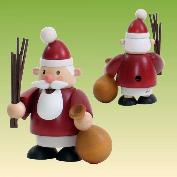 Räuchermann Weihnachtsmann klein