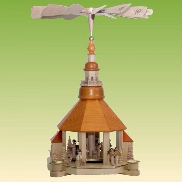 Pyramide Seiffner Kirche