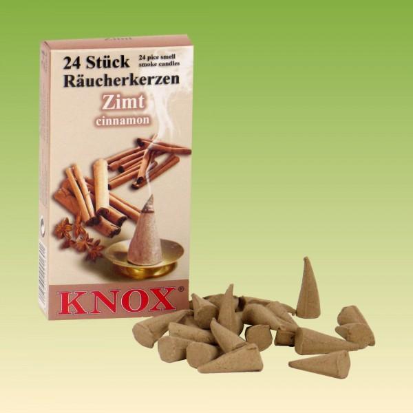 Räucherkerzen Knox Zimtduft