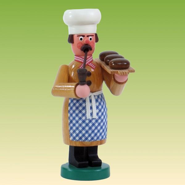 Räuchermann Bäcker mit Broten