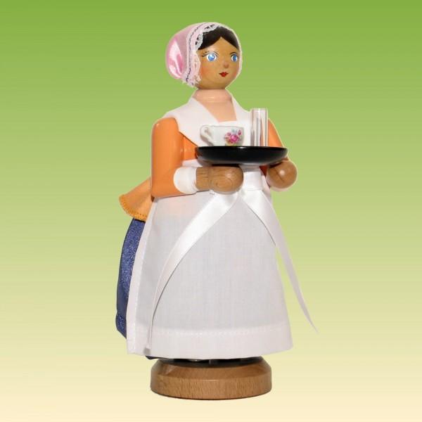 Räucherfrau Schokoladenmädchen